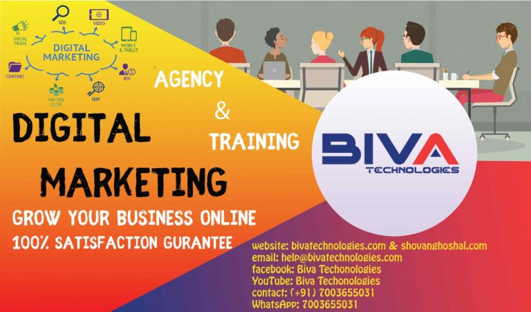 Who we are: Biva Technologies Digital Marketing Company in India