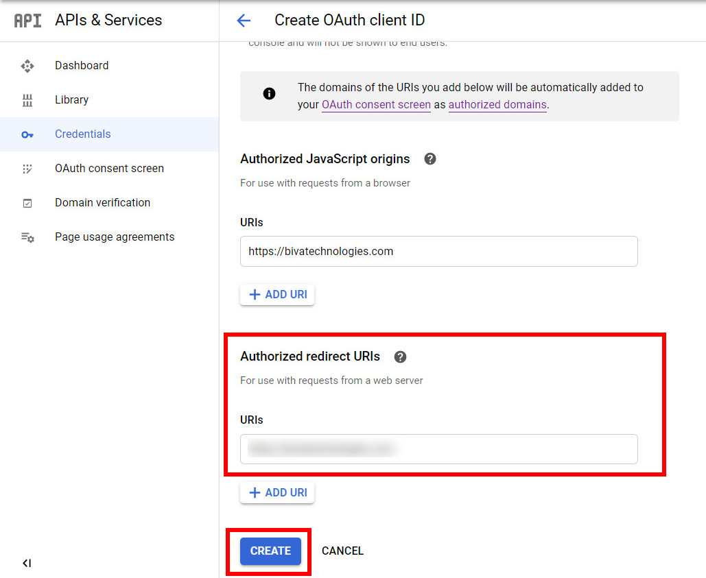 oauth redirection URL from plugin