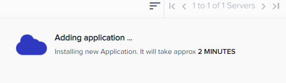application completion time